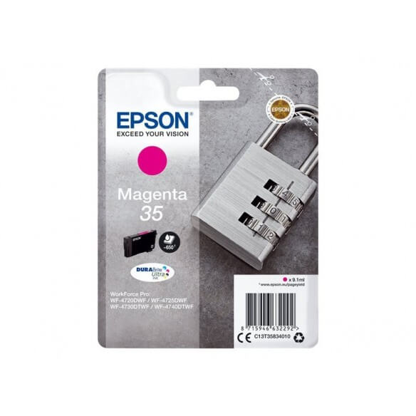 Consommable EPSON CARTOUCHE JET D'ENCRE magenta 650 PAGES...