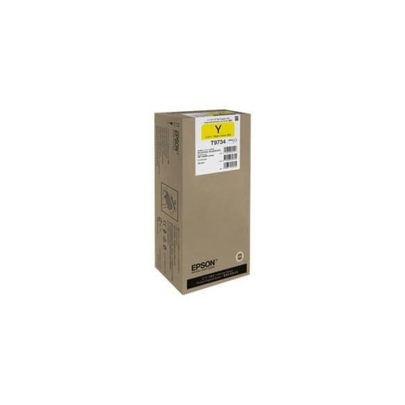Consommable Epson cartouche de couleur jaune 22000 pages haut ...