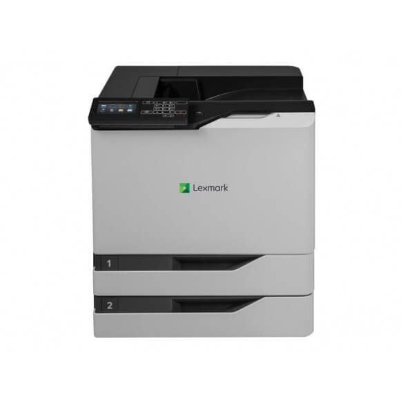 Lexmark CS820dte Imprimante couleur Recto-verso laser A4 (photo)
