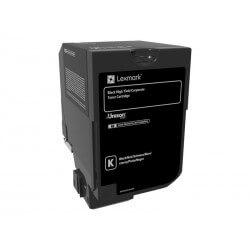 Lexmark cartouche de couleur noir 20000 pages très haut capacité