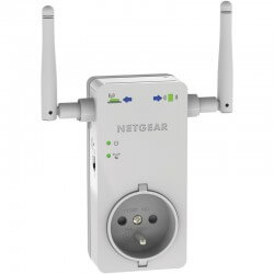 NETGEAR WN3100RP WiFi Range Extender Extension de portée Wifi avec prise Ethernet