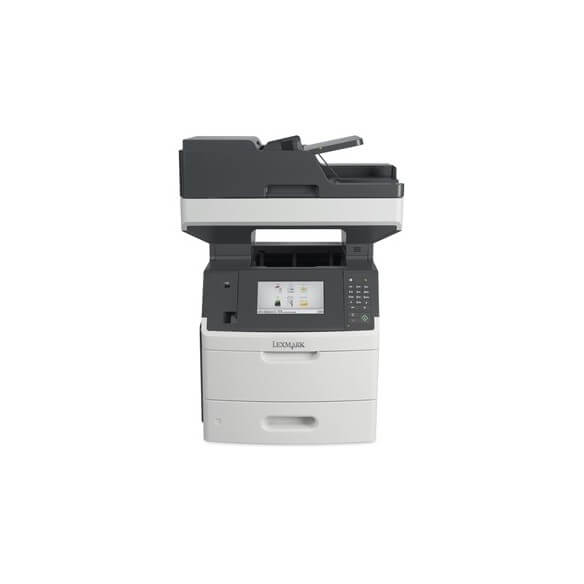 Imprimante Lexmark MX717DE Multifonction laser noir et blanc 4...