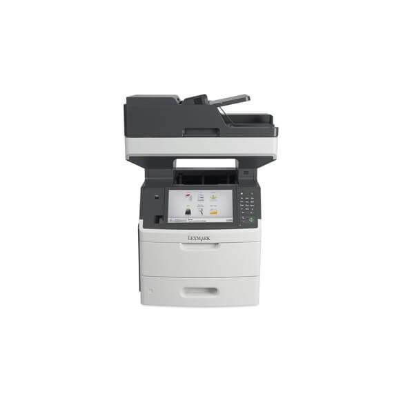 Imprimante Lexmark MX718DE Multifonction laser noir et blanc 4...