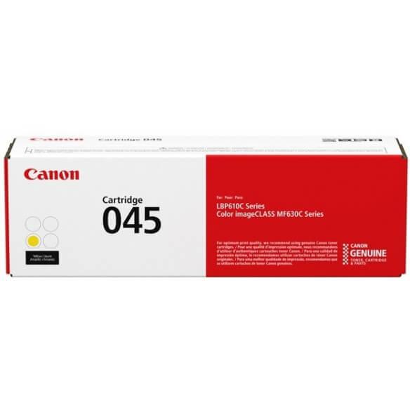 Consommable Canon 045 Cartouche de toner Jaune 1300 pages