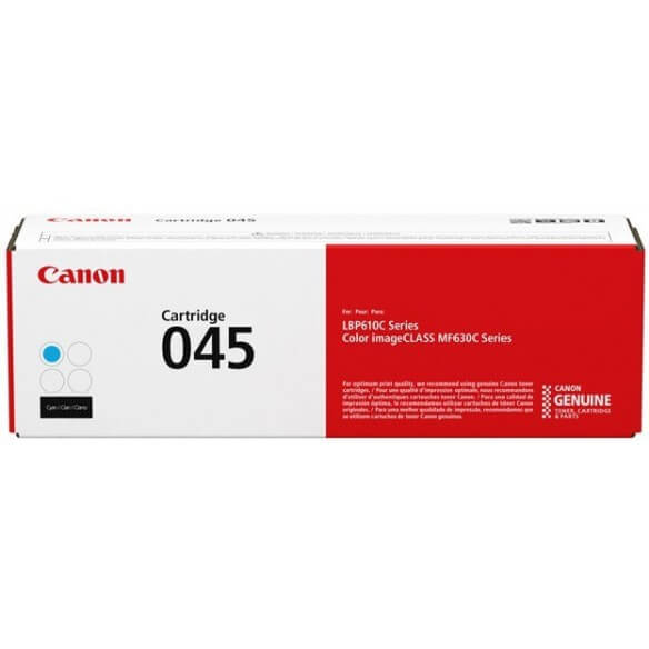 Consommable Canon cartouche de toner cyan 045