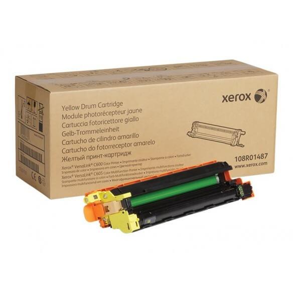 Consommable Xerox unité d'imagerie Jaune 40000 pages pour versalink C600/C605