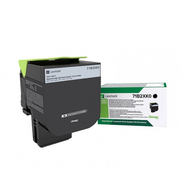 Lexmark Cartouche de toner noir haute capacité 6000 pages pour CX417