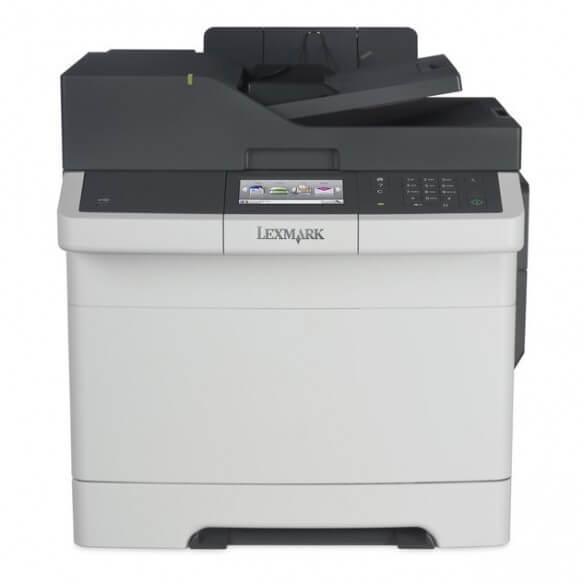 Lexmark CX417 DE, imprimante multifonction A4, laser couleur, réseau, recto-verso