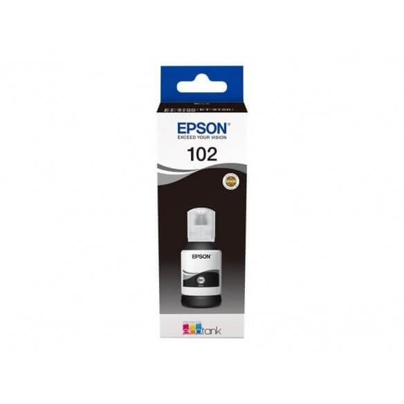 Consommable Epson 102 cartouche d'encre Noir 7500 pages pour ET-2700,ET-2750,ET-3700,ET-37