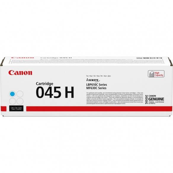 Consommable Canon 045H Cartouche de toner Cyan haute capacité...
