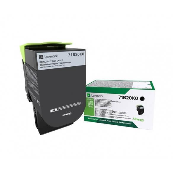 Consommable Lexmark X317 cartouche de toner Noir 3000 page pour CS/CX317/417/517