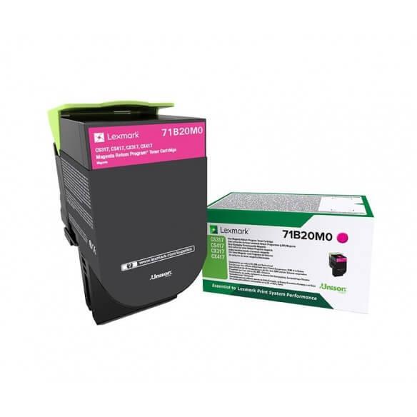 Consommable Lexmark X317 cartouche de toner Magenta 2300 page pour CS/CX317/417/517
