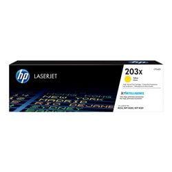 HP cartouche de toner Jaune 203X (2500 pages)