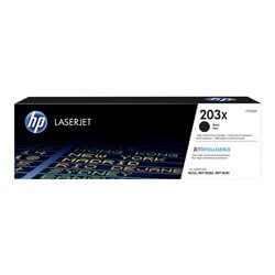 HP cartouche de toner Noir 203X (3200 pages)