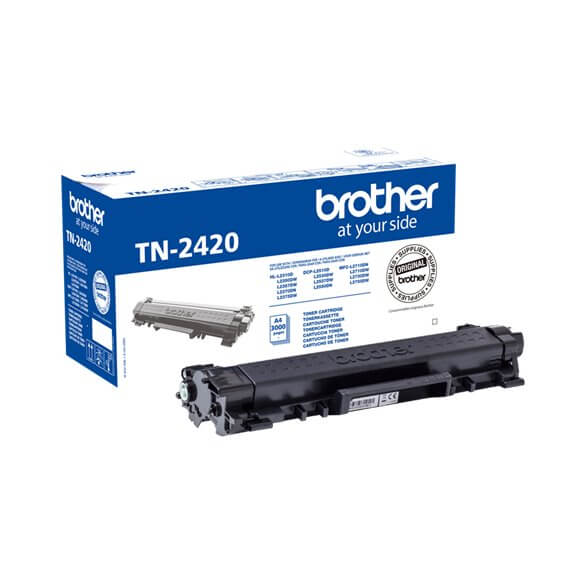 Brother cartouche de toner noir TN-2420 original 3000 pages (photo)