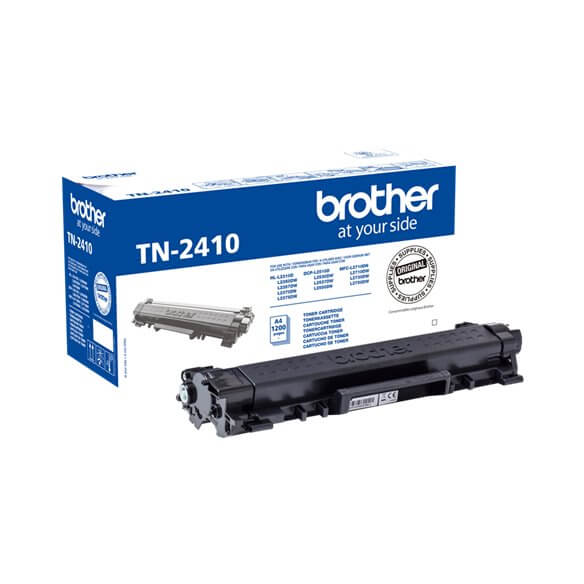 Brother cartouche de toner noir TN-2410 original 1200 pages (photo)