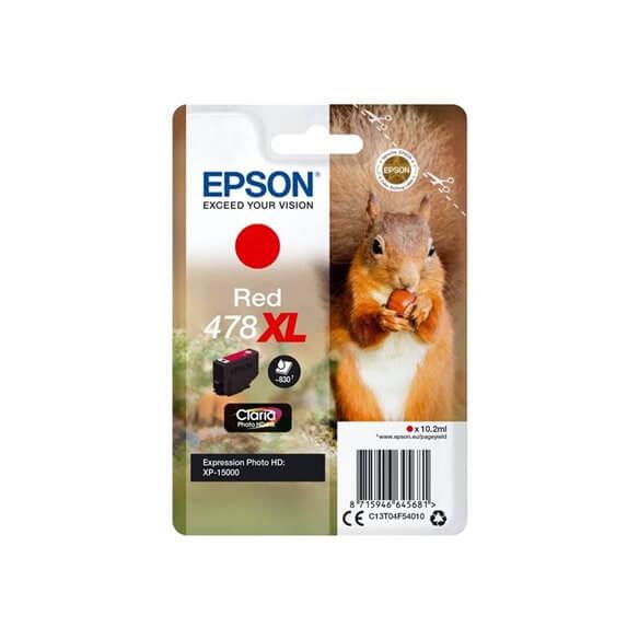 Consommable Epson 478XL Cartouche d'encre Rouge 830 pages pour XP-15000