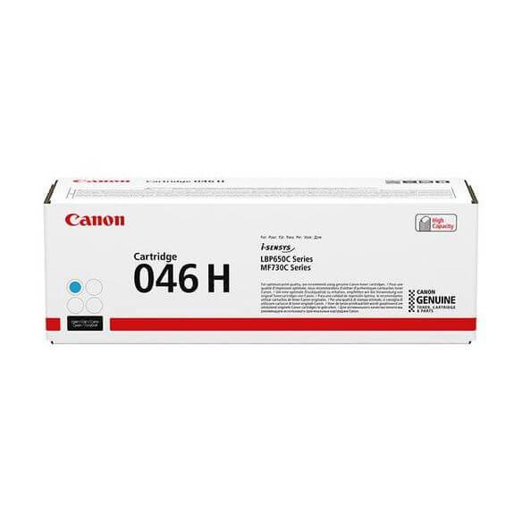 Consommable Canon cartouche cyan haute capacité 046H