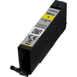 Canon cartouche d'encre jaune pigmentée à haut rendement CLI-581XXL