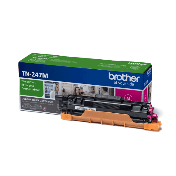 Brother Cartouche de toner magenta TN247M (photo)