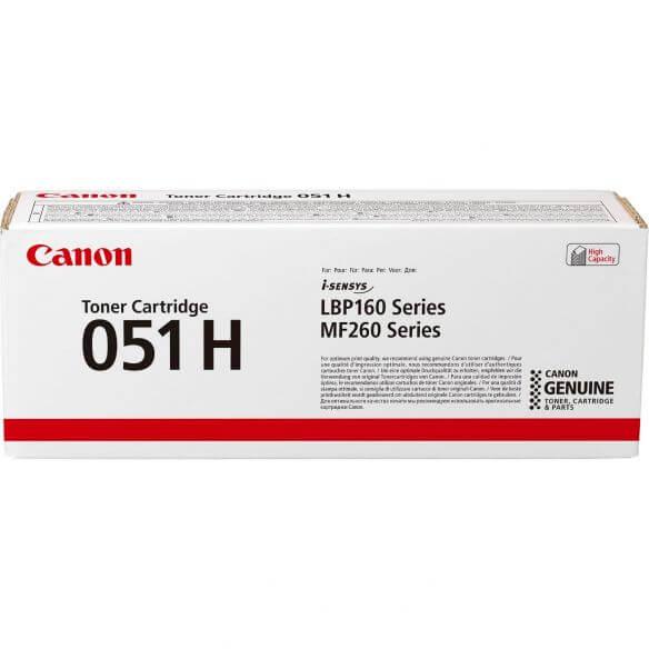 Canon 051H cartouche de toner noir haute capacité (photo)