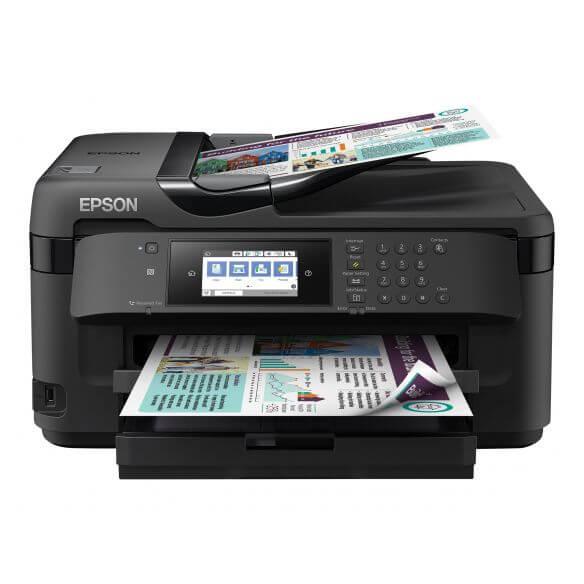 Imprimante Epson WorkForce WF-7715DWF - imprimante multifonctions (couleur)