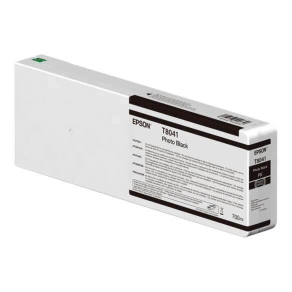 Consommable Epson T804100 - photo noire - originale - cartouche d'encre