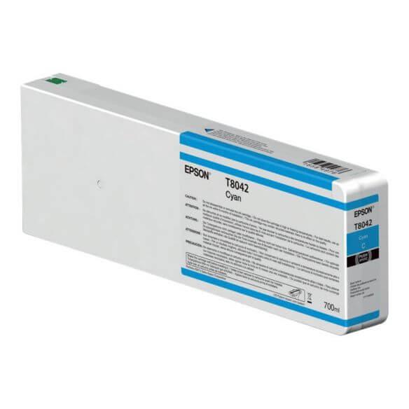 Consommable Epson T804200 - cyan - originale - cartouche d'encre