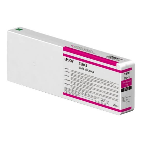 Consommable Epson T8043 - Magenta vif - originale - cartouche d'encre