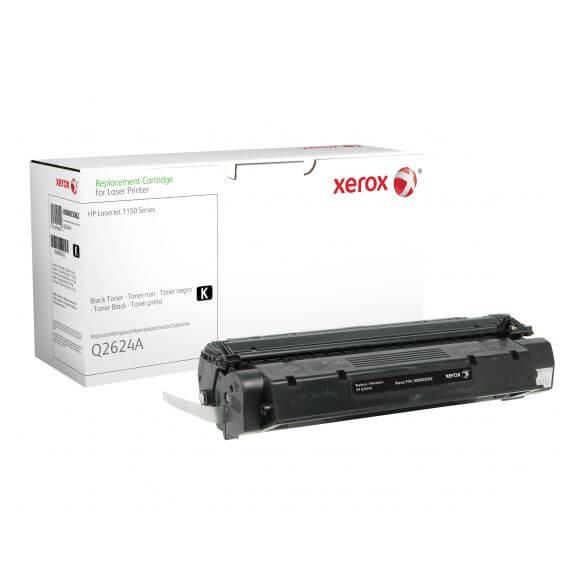 Toner noir Xerox compatible HP Q2624A 2500 pages (photo)