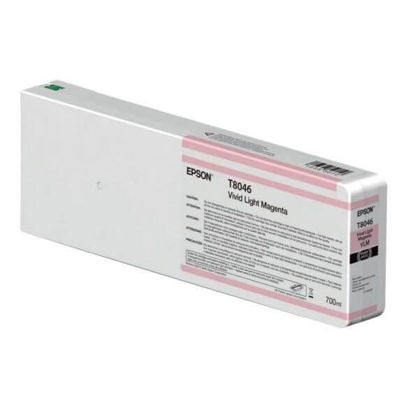 Consommable Epson T8046 - Magenta vif clair - originale - cartouche d'encre