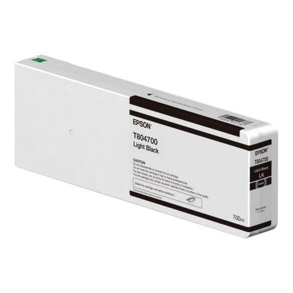 Consommable Epson T804700 - noir clair - originale - cartouche d'encre