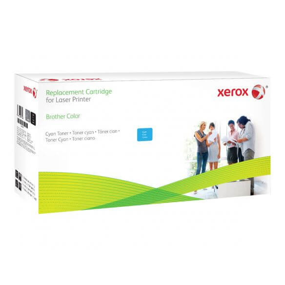 Toner cyan Xerox compatible Brother Tn-325C 3500 pages (photo)