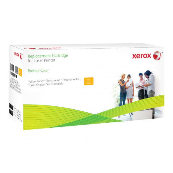 toner jaune Xerox compatible Brother TN-328Y 6000 pages (photo)