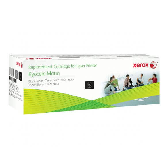 Toner noir Xerox compatible Kyocera tk-160 2500 pages (photo)