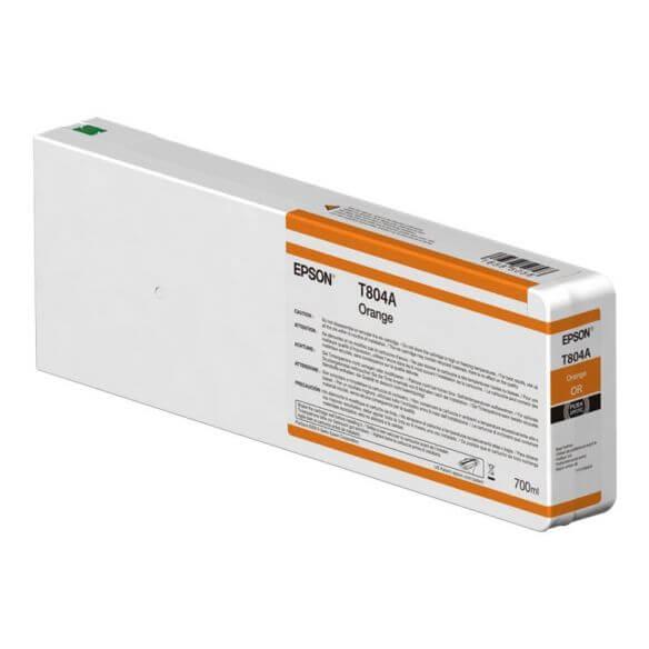 Consommable Epson T804A - orange - originale - cartouche d'encre
