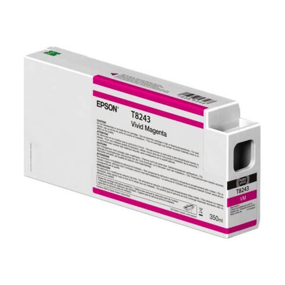 Consommable Epson T824300 - Magenta vif - originale - cartouche d'encre