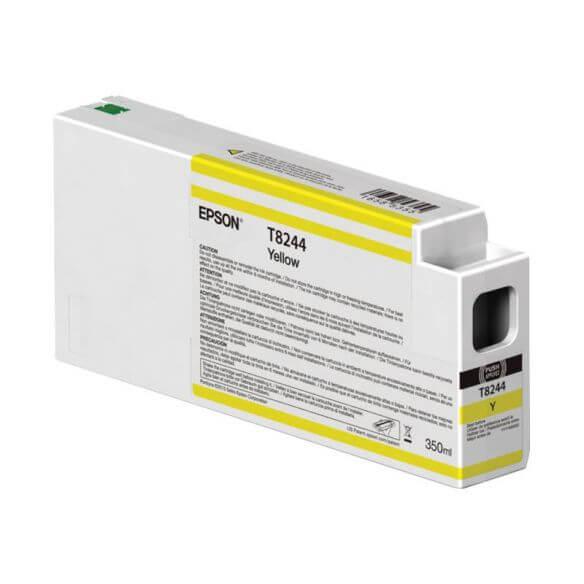 Consommable Epson T8244 - jaune - originale - cartouche d'encre