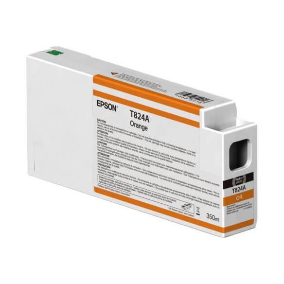 Consommable Epson T824A - orange - originale - cartouche d'encre