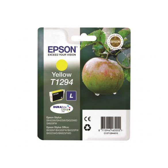 Consommable Epson T1294 - taille L - jaune - originale - cartouche d'encre