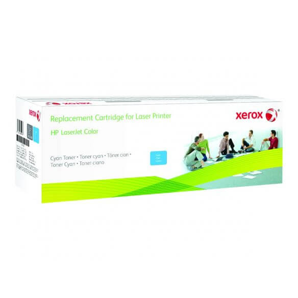 Toner Xerox cyan compatible HP CF331A 16500 pages (photo)