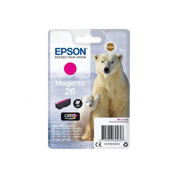 Consommable Epson 26 - magenta - originale - cartouche d'encre