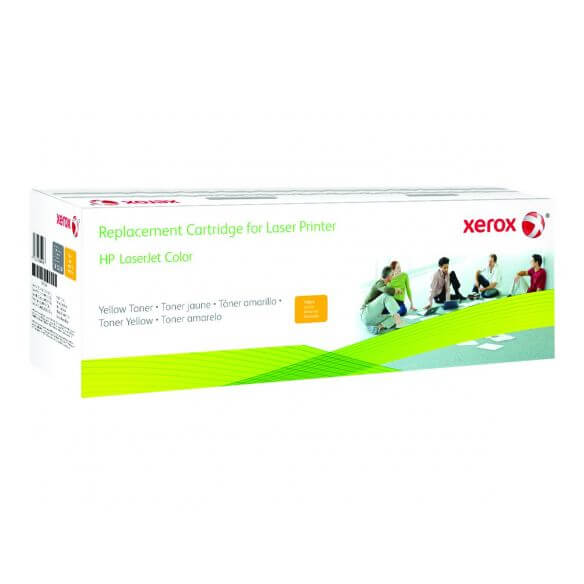 Toner Xerox jaune compatible HP  HP326A 31500 pages (photo)