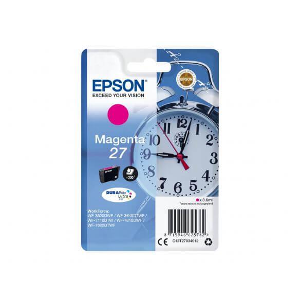 Consommable Epson 27 - magenta - originale - cartouche d'encre