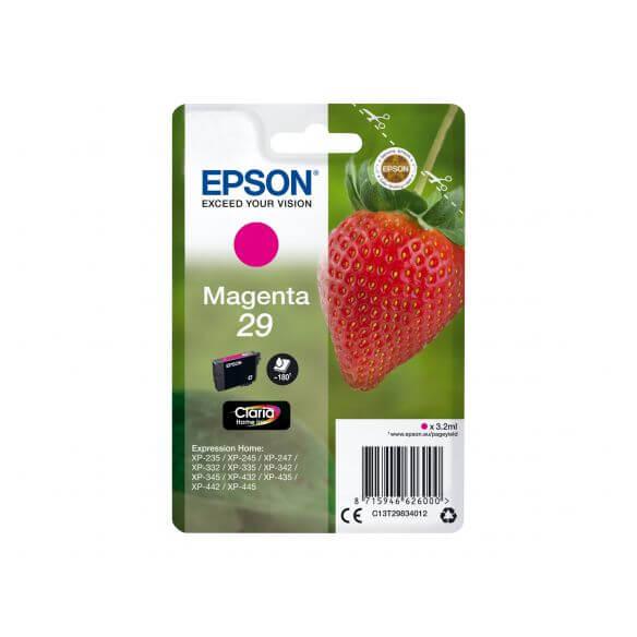 cartouche d'encre magenta Epson 29 (photo)