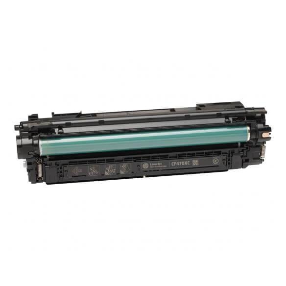 Cartouche de toner noir HP 657X - à rendement élevé - 28000 pages (photo)