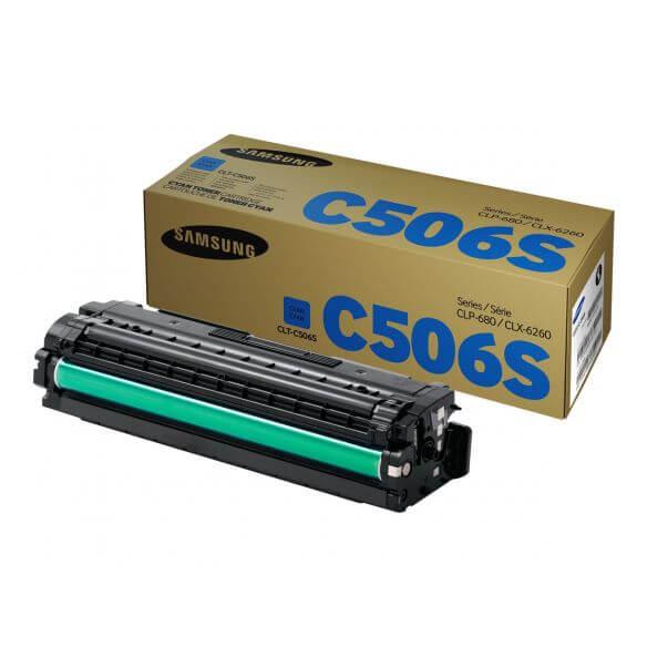 Cartouche de toner cyan Samsung CLT-C506S 1500 pages (photo)