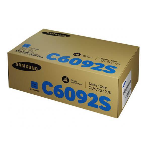 Cartouche de toner cyan Samsung CLT-C6092S - 7000 pages (photo)