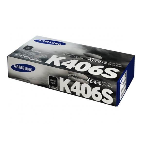 Cartouche de toner noir Samsung CLT-K406S - 1500 pages (photo)