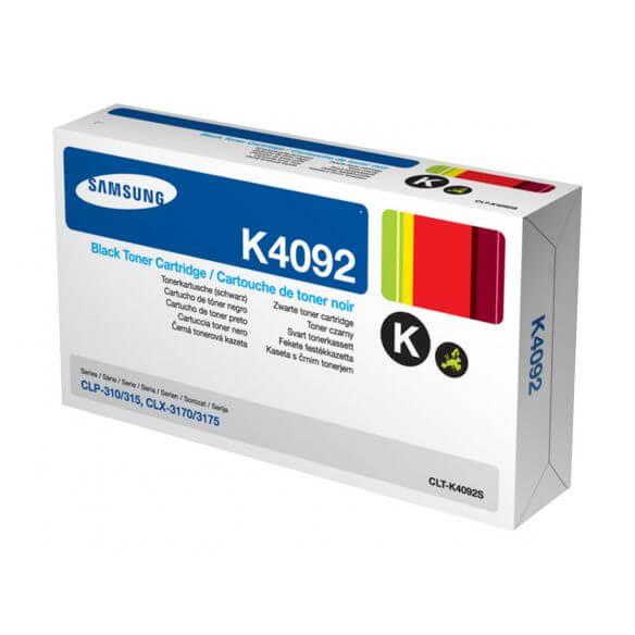 Cartouche de toner noir Samsung CLT-K4092S - 1500 pages (photo)